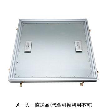 カネソウ フロアーハッチ 呼450 アルミ製 フローリング厚12.5mm用 コンクリート下地用 MOFE-450C-12.5