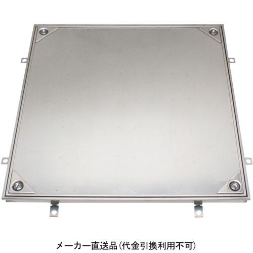 フロアーハッチ 呼600 ステンレス製 樹脂タイル張物用 施錠タイプ・密閉形 カネソウ MSXL-P-600