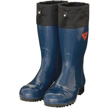 セーフティベアー#500 安全長靴 ネイビー 29.0cm メーカー直送 代引不可 シバタ工業 AB061