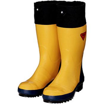 セーフティベアー#500 安全長靴 イエロー 29.0cm メーカー直送 代引不可 シバタ工業 AB071