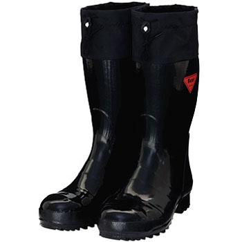 セーフティベアー#500 安全長靴 ブラック 30.0cm メーカー直送 代引不可 シバタ工業 AB101