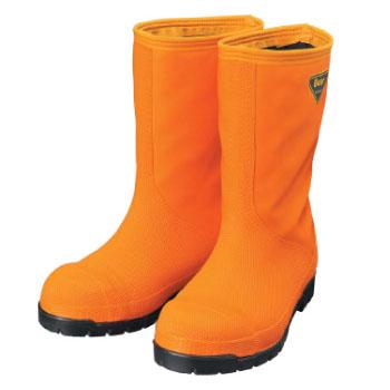 冷蔵庫長靴-40℃ オレンジ 30.0cm ※取寄品 シバタ工業 NR031