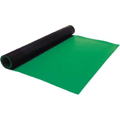 白光 白光 制電マット(テーブル用) 2.0mm×1m×10m ライトグリーン 499-5