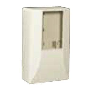 電力量計ボックス(スマートメーター用隠ぺい型) ミルキーホワイト 5個価格 ※取寄品 未来工業 WPS-2M-Z