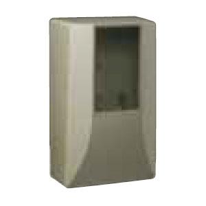 未来工業 電力量計ボックス(スマートメーター用隠ぺい型) ライトブラウン 5個価格 ※取寄品 WPS-3LB-Z