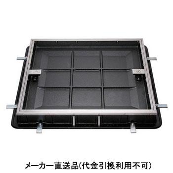 タイル用 簡易密閉型 カラー舗装用鉄蓋ステンレス目地 適用荷重T-14 呼称9100 カネソウ MKCL-14-9100