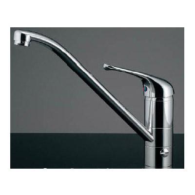 カクダイ シングルレバー混合栓(分水孔つき) 117-031
