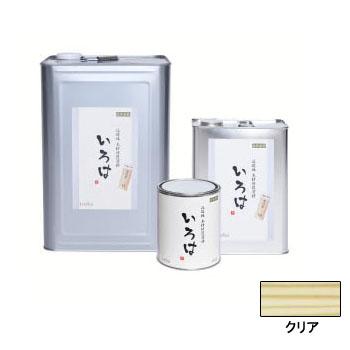 アールジェイ いろはカラー (内外装用自然塗料) クリア 16L ※取寄品 YI-16