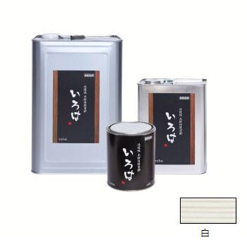アールジェイ いろはカラー (内外装用自然塗料) 白色 16L ※取寄品 YW-16