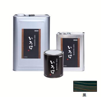 アールジェイ いろはカラー (内外装用自然塗料) 黒色 3.5L ※取寄品 YE-03