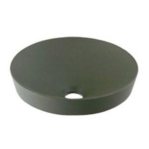 カクダイ 丸型手洗器(松葉) 493-012-YG