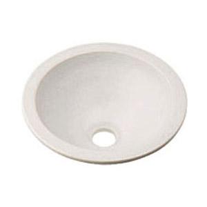 カクダイ 丸型手洗器(月白) 493-013-W