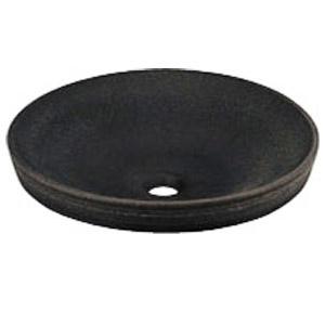 カクダイ 丸型洗面器(古窯) 5.5L ※メーカー直送品 493-014-DG