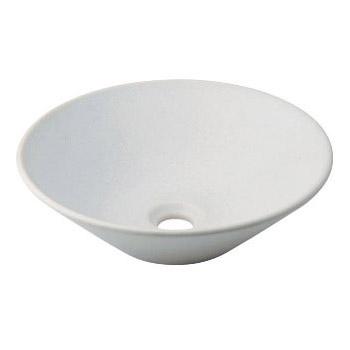 カクダイ 丸型手洗器(月白) 493-037-W