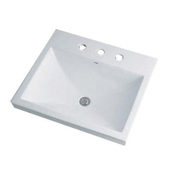 新作 カクダイ カクダイ 角型洗面器(3ホール) 6.5L 493-092, USプラザ:41f99c2e --- hortafacil.dominiotemporario.com