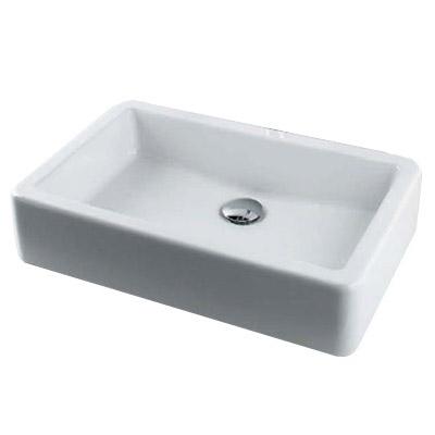 角型洗面器 12L メーカー直送品 カクダイ #DU-0455600000