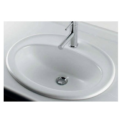 丸型洗面器(1ホール) 6.5L カクダイ #DU-0472560000