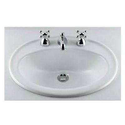 丸型洗面器(3ホール) 6.5L カクダイ #DU-0472560030