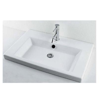 角型洗面器 2L メーカー直送品 カクダイ #DU-0491700000