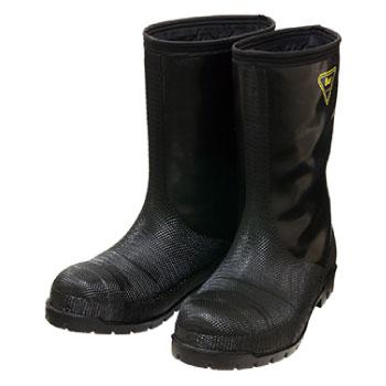 冷蔵庫長靴-40度 ブラック 27.0cm ※取寄品 シバタ工業 NR041