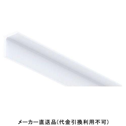 フクビ化学 棚受けアングル26×20 2m ホワイト 1箱50本価格 TU222W
