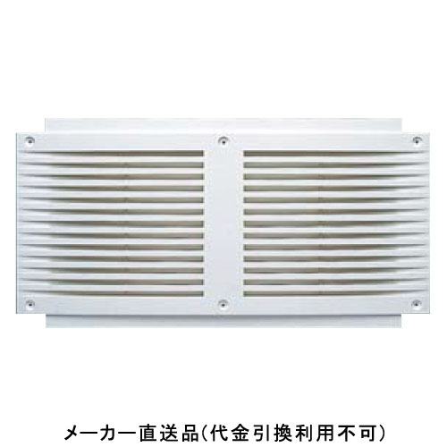 フクビ化学 軒天換気孔(防虫ネット付) 福風2型 186×366mm ホワイト 1箱40個価格 NH2DXW