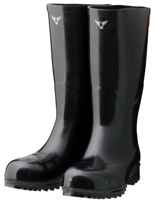安全大長靴 ブラック 24.0cm ※メーカー直送品 シバタ工業 AB021