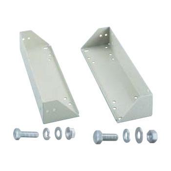 トラスコ 中量棚キャスターベースユニット(径150mm用)M3・M5型専用奥行476mm用(1セット価格) CUD-470-150