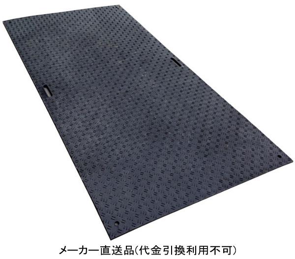 ウッドプラスチック Wボード48 片面凸 色:黒 1219mm×2438mm×15mm 1枚価格 ※離島配送不可
