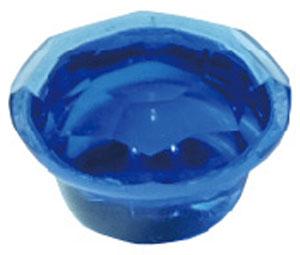 ジュエルキャップ ブルー 8号大・600個価格 ※取寄品 ダンドリビス C-JCXBLX-ZX
