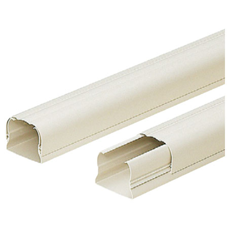スッキリライン(エアコン配管用ダクト・70型)ホワイトブラウン 10本価格 ※取寄品 未来工業 GK-70WBS