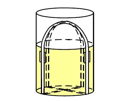 小泉製麻 フレコンバッグ(1トン袋)10枚価格【再生原料50%含有】 KTOY-1A