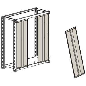 トラスコ 中量棚M2型用背板(はめこみ式)905×1805mm用 ネオグレー(1組価格)【代引不可・メーカー直送品】 SM2-63-NG