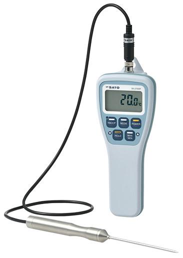 佐藤計量器 防水型デジタル温度計 SK-270WP 8078-00