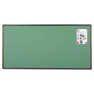 トラスコ ブロンズ掲示板 マグネット ピン両用 600×900mm グリーン 代引不可 受注生産品 メーカー直送品 YBE-23SGM