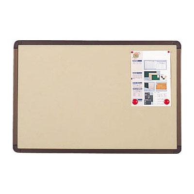 トラスコ ブロンズ掲示板 マグネット ピン両用 600×900mm ベージュ 代引不可 受注生産品 メーカー直送品 YBE-23SBM