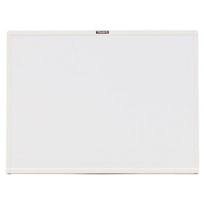 トラスコ 壁掛スチール製ホワイトボード(無地)450×600mm ホワイト WGH-132S-W