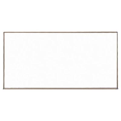 トラスコ 壁掛スチール製ホワイトボード(無地) 450×600mm ブロンズ WGH-132S-BL