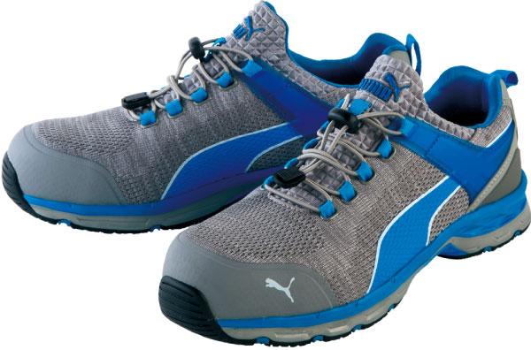 【送料無料】安全靴 エキサイト 27.5cm ブルー ロー PUMA(プーマ) 64.227.0 ( スニーカー 作業靴 作業用 ワーキングシューズ 安全シューズ セーフティーシューズ 先芯入りスニーカー ローカット おしゃれ メンズ ウォーキングシューズ )