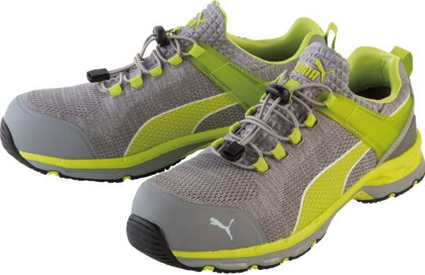 【送料無料】安全靴 エキサイト 27.0cm イエロー ロー PUMA(プーマ) 64.231.0 ( スニーカー 作業靴 作業用 ワーキングシューズ 安全シューズ セーフティーシューズ 先芯入りスニーカー ローカット おしゃれ メンズ ウォーキングシューズ )