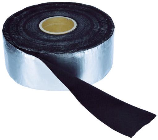 トラスコ アルミ箔耐炎フェルトテープ 厚み4mm×幅95mm×長さ9m ※取寄品 TFA-41010
