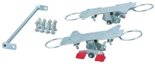 トラスコ MPK-600用リング式自在4輪ストッパー ※取寄品 K-600JRS-4