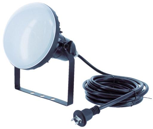 トラスコ LED投光器 DELKURO 20W 5m ※取寄品 RTLE-205
