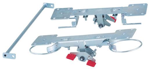 トラスコ グランカート800番シリーズ自在2輪固定2輪用リング式ストッパー ※取寄品 TP-800JKRS-4