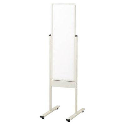 トラスコ スチール製ニューホワイト案内板(無地・アジャスター付)900×450mm ホワイト 代引不可 メーカー直送品 WMG-532SN