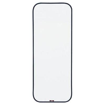 トラスコ スチール製ホワイトボード(無地・ミニタイプ) 900×350mm 黒 SH-315W