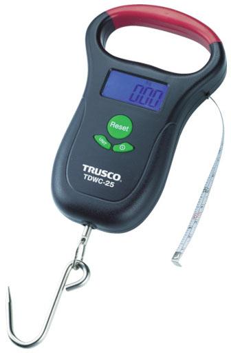 トラスコ デジタル吊りばかり 50kg ※取寄品 TDWC-50