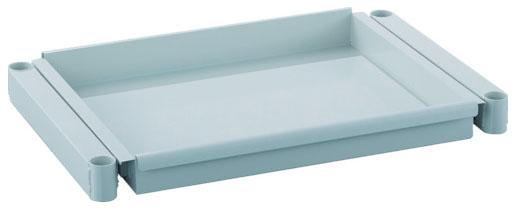 トラスコ フェニックスワゴン用スライド棚板 750×500 ホワイト ※取寄品 PEW-M75T-W