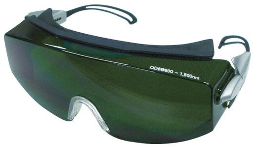 トラスコ レーザー用二眼型保護メガネ YAG・ファイバー用 ※取寄品 TLSG-YGD