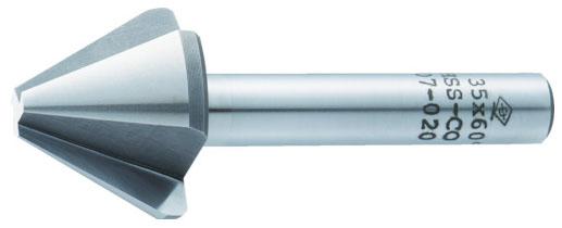 トラスコ 面取リーマ 45.0mm 先端角60度 ※取寄品 TMC-45-60